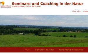 Webseite Zamyat-Natur-Seminare